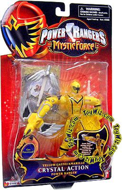 Power Rangers Mystic Force Yellow Crystal Action Power Ranger Action Figure