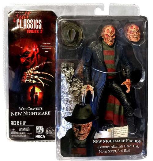 NECA Wes Craven's New Nightmare Cult Classics Series 2 Freddy Krueger Action Figure