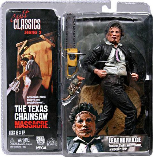 NECA The Texas Chainsaw Massacre Cult Classics Series 2 Leatherface Action Figure