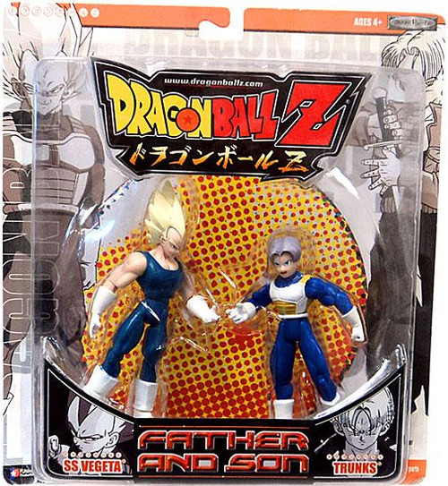 Dragon Ball Z Final Run Series 1 Father and Son SS Vegeta & Trunks Action Figure 2-Pack