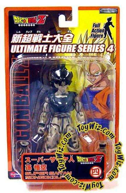 Dragon Ball Z Ultimate Figure Series 4 SS SonGokou Action Figure