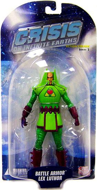 DC Crisis on Infinite Earths Series 2 Battle Armor Lex Luthor Action Figure