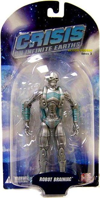 DC Crisis on Infinite Earths Series 2 Robot Brainiac Action Figure