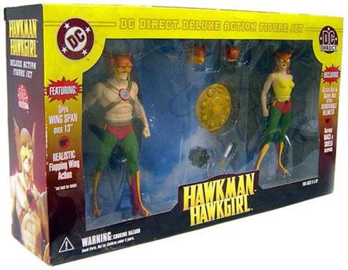DC Super Heroes Hawkman & Hawkgirl Action Figure Set