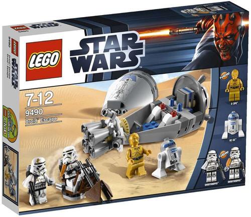 LEGO Star Wars A New Hope Droid Escape Set #9490