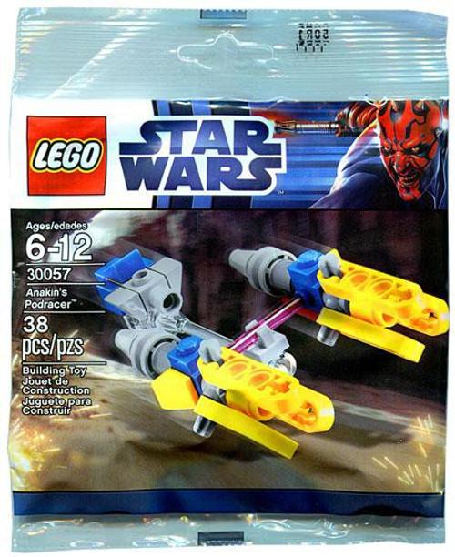 LEGO Star Wars The Phantom Menace Anakin's Podracer Mini Set #30057 [Bagged]