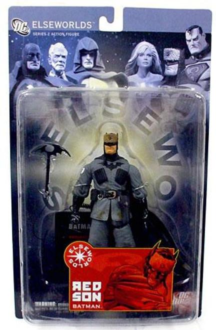 Elseworlds Series 2 Red Son Batman Action Figure