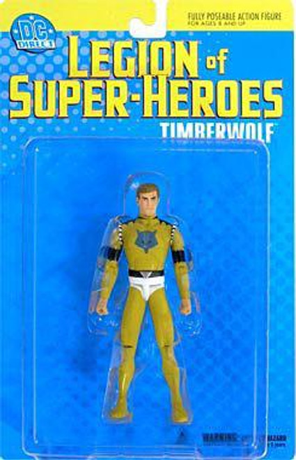 DC Legion of Super Heroes Timber Wolf Action Figure