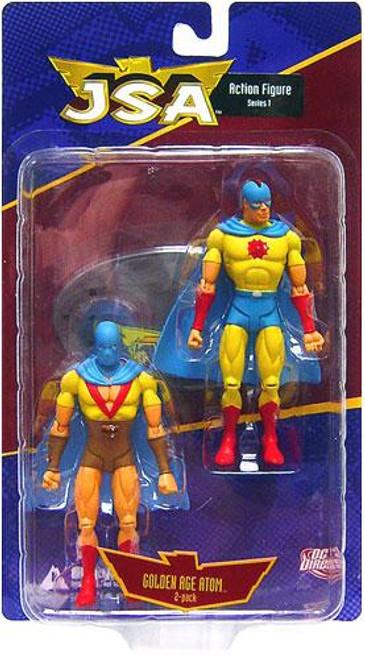 DC JSA Series 1 Golden Age Atom Action Figure 2-Pack