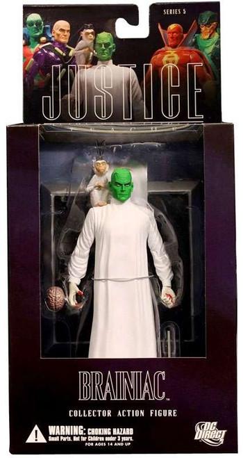 DC Alex Ross Justice League Series 5 Brainiac Action Figure