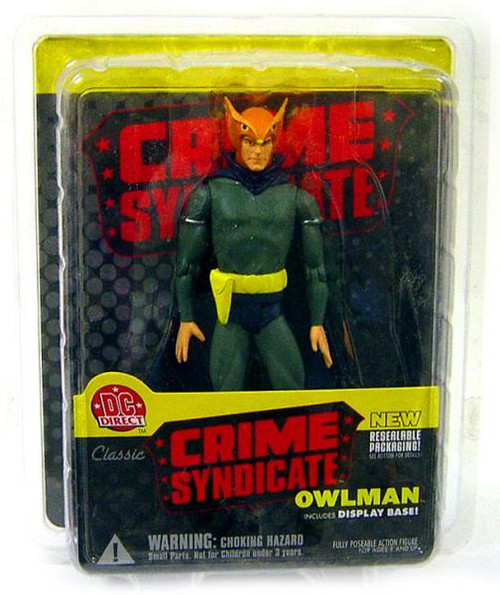 DC Crime Syndicate Owlman Action Figure