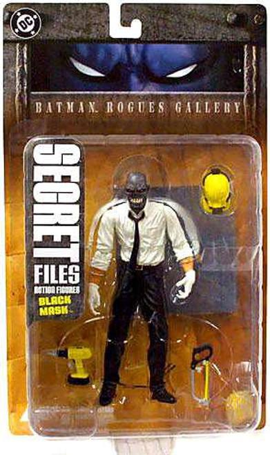 Secret Files Series 1 Batman Rogues Gallery Black Mask Action Figure