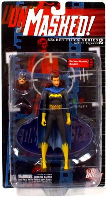 DC Secret Files Series 2 Unmasked Barbara Gordon / Batgirl Action Figure