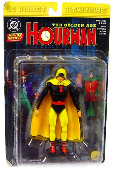 DC JSA The Golden Age Hourman Action Figure [Damaged Package]