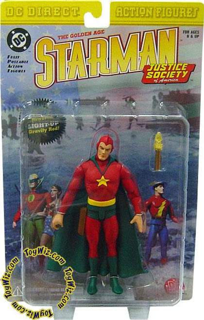 DC JSA The Golden Age Starman Action Figure