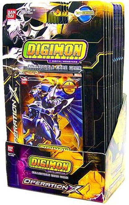 Digimon Collectible Card Game Operation X Booster Box