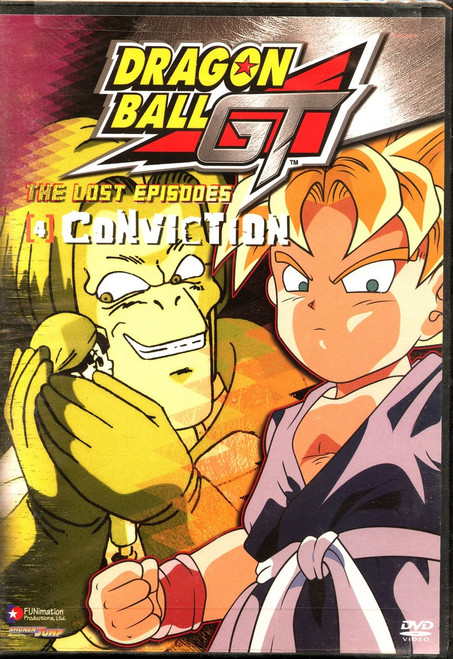Dragon Ball GT The Lost Episodes - Conviction DVD #04 [Uncut]