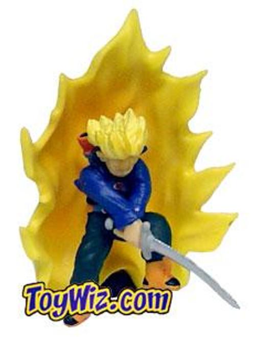 Dragon Ball Z Capsule Toy Trunks PVC Figure [Stance B]