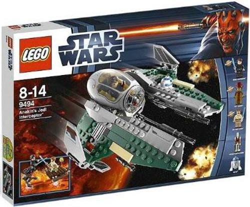 LEGO Star Wars Revenge of the Sith Anakin's Jedi Interceptor Exclusive Set #9494
