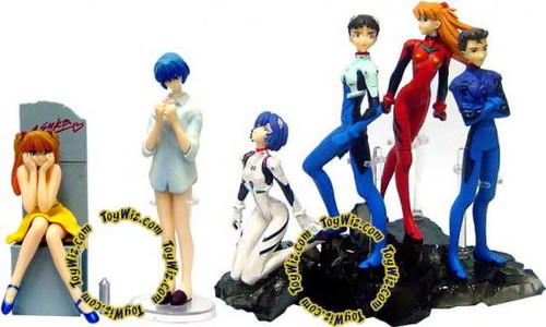 Neon Genesis Evangelion PVC Figure Set