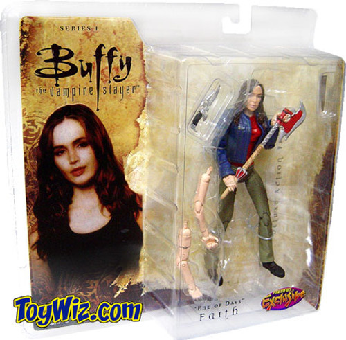 Buffy The Vampire Slayer Series 1 Faith Exclusive Action Figure [End of Days]