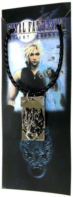 Final Fantasy VII Advent Children Cloud Strife's Metal Insignia Dog Tag