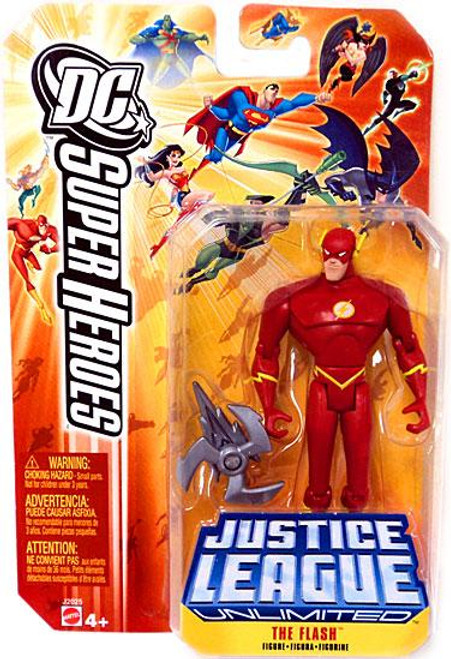 DC Justice League Unlimited Super Heroes The Flash Action Figure