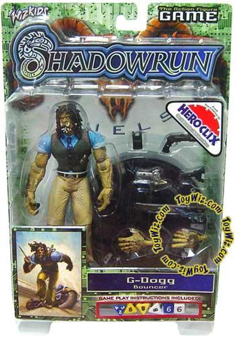 Shadowrun Duels Series 1 G-Dogg Action Figure
