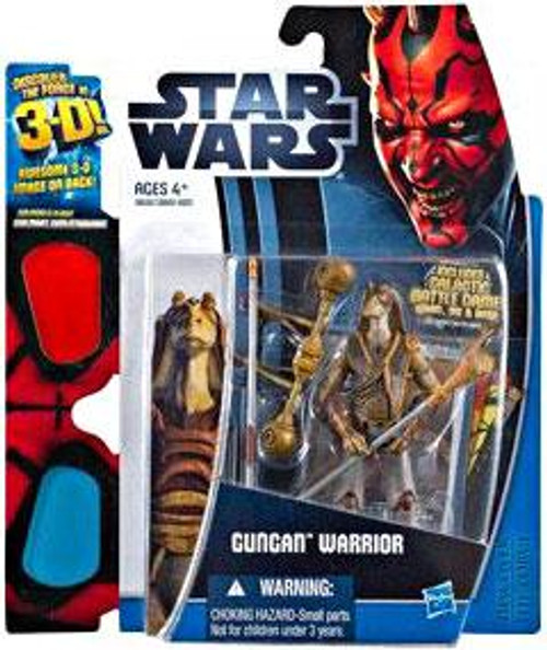 Star Wars The Phantom Menace Discover the Force 2012 Gungan Warrior Exclusive Action Figure
