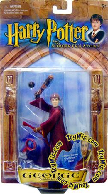 Harry Potter The Sorcerer's Stone George Action Figure [Quidditch Team, Damaged Package]