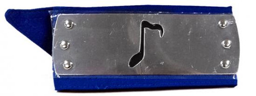 Naruto Official Sound Village Headband [Blue Sash]