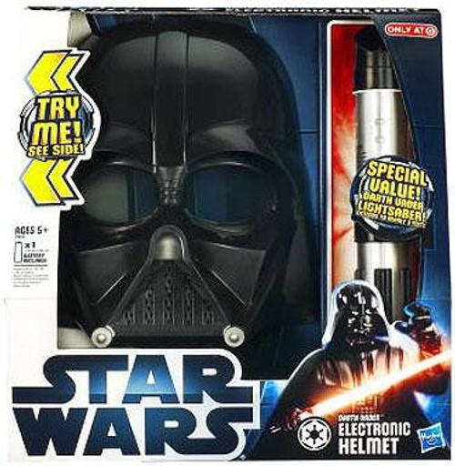Star Wars Roleplay Toys Darth Vader Electronic Helmet & Lightsaber Exclusive