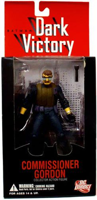 Batman Dark Victory Commissioner Gordon Action Figure