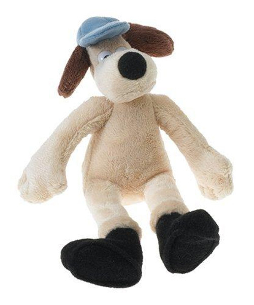 McFarlane Toys Wallace and Gromit Mini Plush Gromit With Boots Bean Doll
