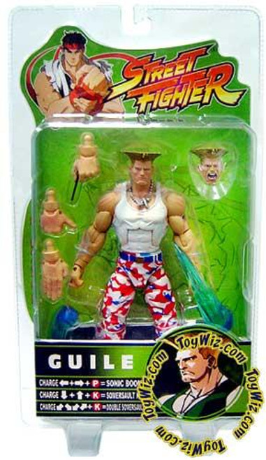 Street Fighter Series 3 Guile Exclusive Action Figure [USA]