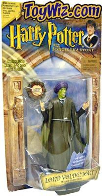Harry Potter The Sorcerer's Stone Lord Voldemort Action Figure [Quirrel Variant, Damaged Package]