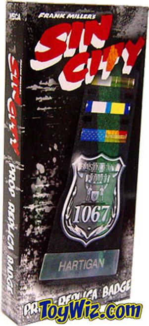 NECA Sin City Hartigan's Badge Prop Replica