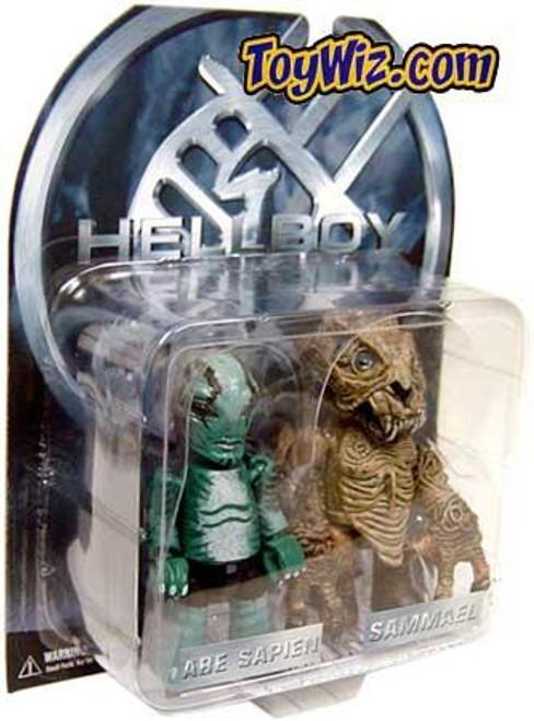 Hellboy Mez-Itz Abe Sapien & Sammael Mini Figure 2-Pack