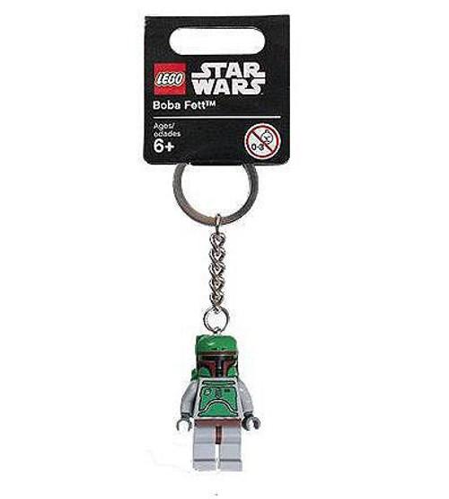 LEGO Star Wars Boba Fett Exclusive Keychain