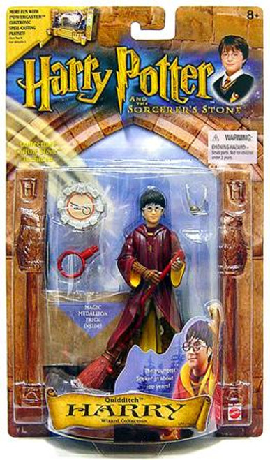The Sorcerer's Stone Harry Potter Action Figure [Quidditch]