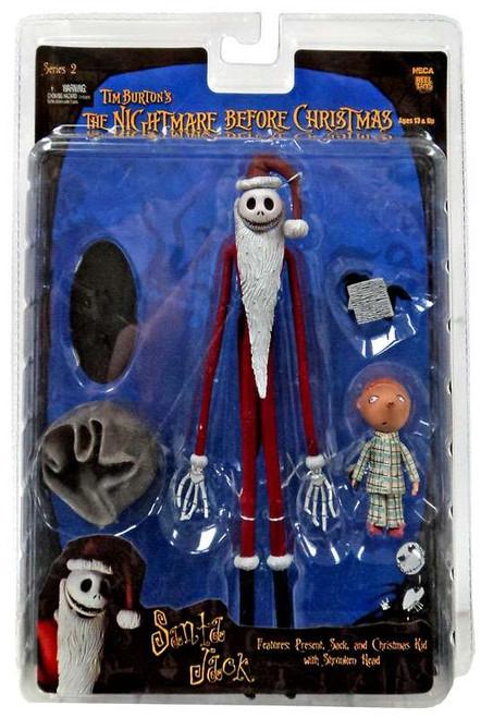 NECA The Nightmare Before Christmas Series 2 Santa Jack Action Figure