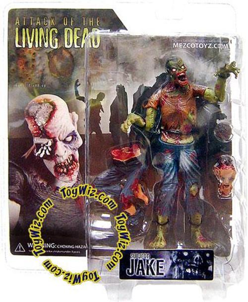 Attack of the Living Dead Afterlife Jake Action Figure [Dark Skin, Damaged Package]