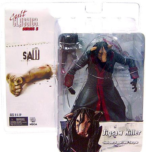 NECA Cult Classics Series 5 Jigsaw Killer Action Figure [Masked]