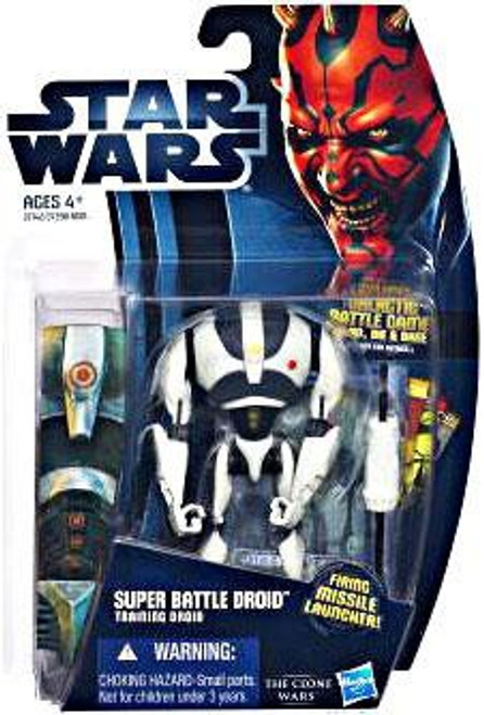 Star Wars The Clone Wars Clone Wars 2012 Super Battle Droid Action Figure CW16 [Training Droid]