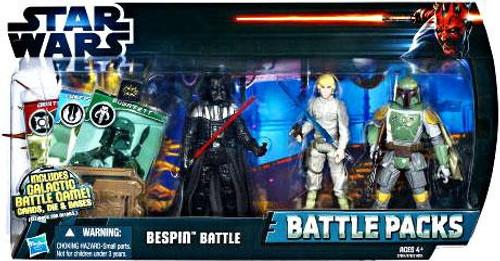 Star Wars The Empire Strikes Back Battle Packs 2012 Bespin Battle Action Figure Set