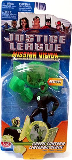Justice League Mission Vision Green Lantern Action Figure