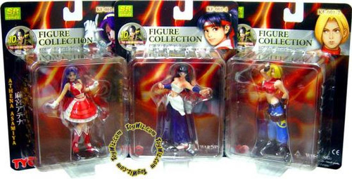 King of Fighters Girls Series 1 Set of 3 Figures