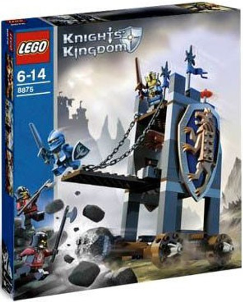 LEGO Knights Kingdom King's Siege Tower Set #8875