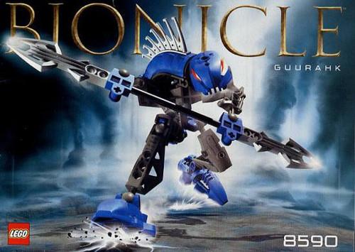 LEGO Bionicle Rahkshi Guurahk Set #8590