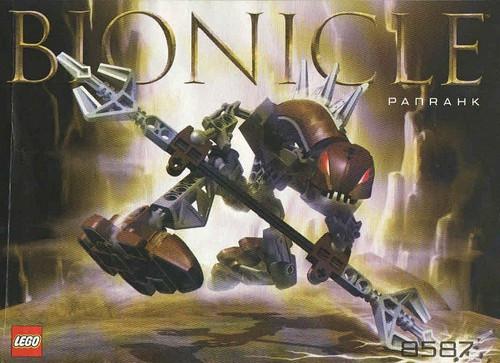 LEGO Bionicle Rahkshi Panrahk Set #8587